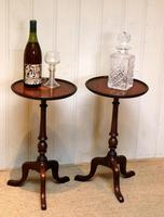Pair of Inlaid Mahogany Wine Tables (7 of 10)