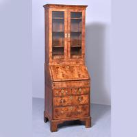 George I Walnut Bureau Bookcase c.1724