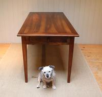 Small Proportioned French Cherry Wood Farmhouse Table (9 of 10)