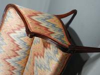 Shapely & Elegant Mid 19th Century Camelback Sofa (5 of 5)