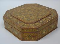 Antique Indian Inlaid Lidded Box (5 of 10)