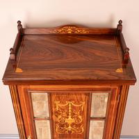 Inlaid Rosewood Music Display Cabinet (10 of 15)