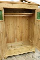 Fabulous Old Pine Knock Down 'arts & Crafts' Double Wardrobe  - We Deliver & Assemble! (8 of 16)