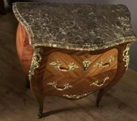 Small French Louis XVI Style Bombe Commode (2 of 12)