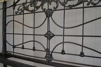 Super Victorian Brass & Iron King Size 5ft Bedstead (13 of 14)