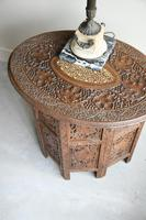Carved Indian Side Table (8 of 12)