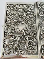 Sterling Silver Book Cover. London 1910. (8 of 8)