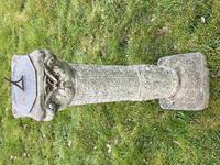 "Roman Style Stone Garden Bronze Floral Sundial ""Sunny Hour"" (3 of 30)"