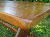 Large French Oak Refectory Dining Table (5 of 12)