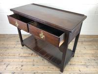 Antique Early 20th Century Oak Pot Board Dresser Base (5 of 9)