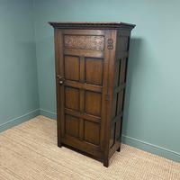 Quality Oak Antique Hall Wardrobe by Wylie & Lochhead (3 of 7)