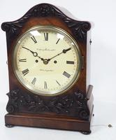 Antique English 8 Day Twin Fusee Bracket clock 8-Day Striking Double Fusee Mantel Clock By G Spiegelhalter & Co Whitechapel (5 of 13)