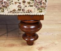 Small Victorian Mahogany Chaise Longue (8 of 8)