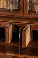George III Period Mahogany Secretaire Bookcase, Gillows of Lancaster Attributed (3 of 9)