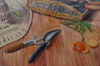 Still life in the artists garden by Joan Warburton (5 of 6)