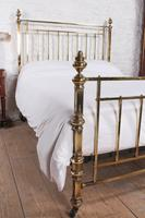 Fabulous Quality Victorian King Size all brass bed (3 of 9)