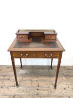 Antique Edwardian Mahogany Bonheur Du Jour Desk (13 of 15)