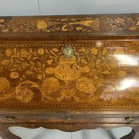 Early 19th Century Dutch Marquetry Bureau (4 of 13)