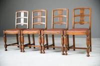 1930s Oak Dining Chairs (3 of 11)
