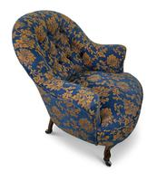 Small Napoleon III Buttoned Tub Chair (3 of 6)