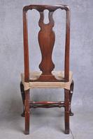 Pair Of Early 18th Century Walnut Side Chairs (7 of 8)