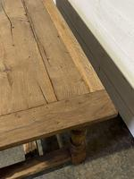 Rustic French Oak 19th Century Farmhouse Kitchen Table (12 of 31)