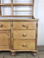 Victorian Antique Pine Dresser (15 of 18)
