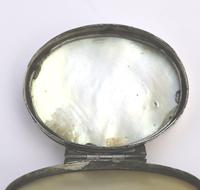 Fine European & Chinese Silver & Mop Carved Novelty Snuff Box 17th/18th Century (11 of 12)