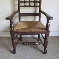 Ash Spindle-back Carver Chair (4 of 5)