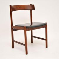 1960's Danish Vintage Rosewood Dining Chairs – Set of 6 (10 of 15)
