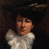 Paul-Antoine Hallez, Portrait of Lady with Umbrella (7 of 10)