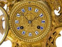 Fine Quality Rococo French Mantel Clock (5 of 8)
