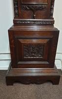 Outstanding Oak Grandfather Clock - William Evans (8 of 13)