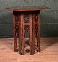 Decorative Burmese chai or tea table (6 of 8)