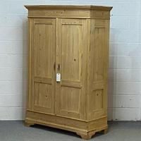 Old Continental Pine Knock Down Double Wardrobe (3 of 4)