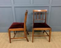 Set of 8 Georgian Mahogany Dining Chairs (15 of 16)