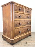Victorian Mahogany Straight Front Chest of Drawers (6 of 11)