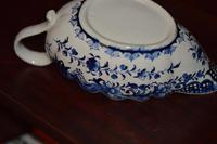 18th Century Derby Blue & White Chinoiserie Sauce Boat (5 of 12)