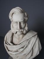 Antique White Marble Bust by John Steell, Rsa (16 of 16)