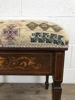 Antique Victorian Rosewood Piano Stool (8 of 14)