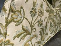 Queen Anne Style French Wing Back Chair (7 of 9)