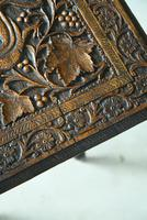 Small Eastern Carved Side Table (6 of 11)