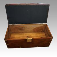 Victorian Leather Camphor Wood Ottoman (6 of 10)