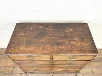 Georgian Antique Oak Chest of Drawers (6 of 10)