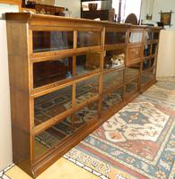 Suite of Oak Stacking Bookcases (7 of 7)