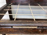 18th Century Panelled Oak Settle (4 of 10)