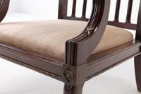 19th Century Mahogany Armchair (5 of 8)