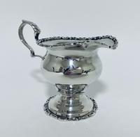 Antique Solid Sterling Silver Milk or Cream Jug Chester 1906 (3 of 11)
