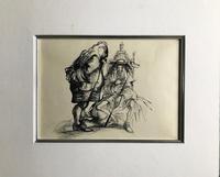 Original Pen and ink drawing by John Berry  c.1960