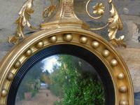 Outstanding Regency Giltwood Mirror With Eagle Crest (7 of 10)